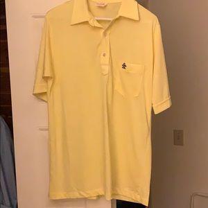 Vintage Grand Slam Munsingware Large Yellow Polo